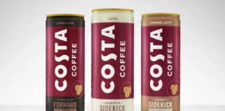 Coca-Cola launches its first Costa Coffee branded beverage