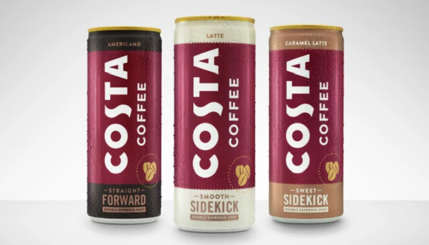 Coca Cola Launches Its First Costa Coffee Branded Beverage