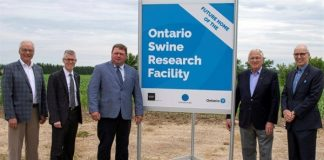 Swine research facility to benefit Canadian pork producers
