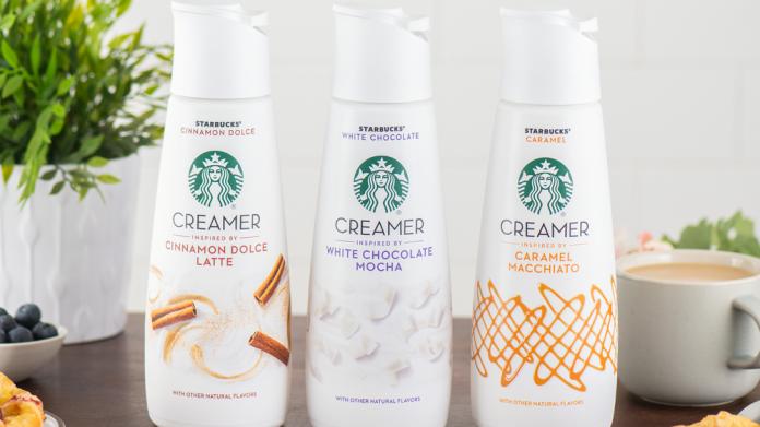Starbucks launch refrigerated creamer via Nestlé alliance