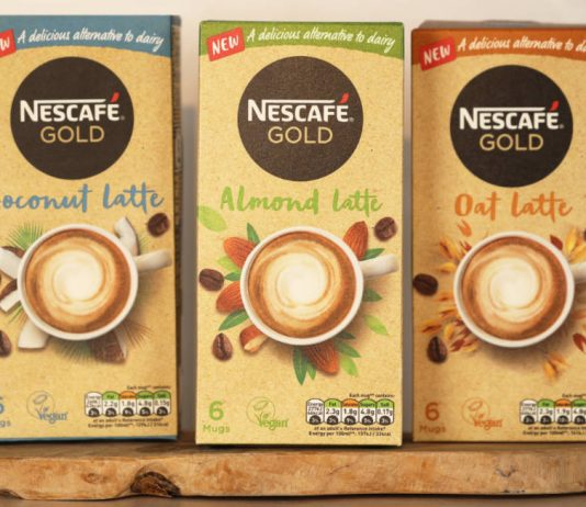 Nestlé rolls out plant-based lattes in UK
