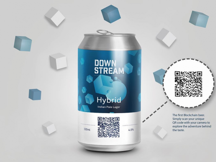Wider M&S listings for world's first blockchain beer