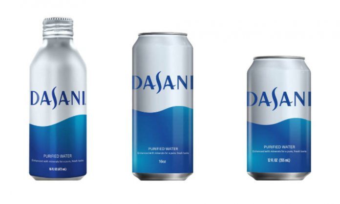 Sustainable packaging innovations for Dasani
