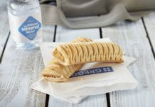 Greggs partners with Just Eat for UK delivery