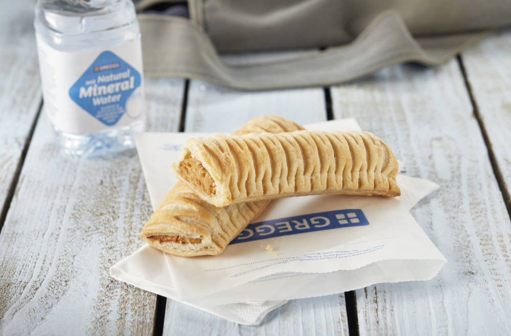Greggs Partners With Just Eat For Uk Delivery Food Drink