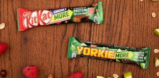 Nestlé adds protein & fibre to chocolate bar duo
