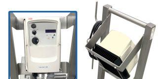 Admix introduce DynaShear 215 lab scale inline mixer