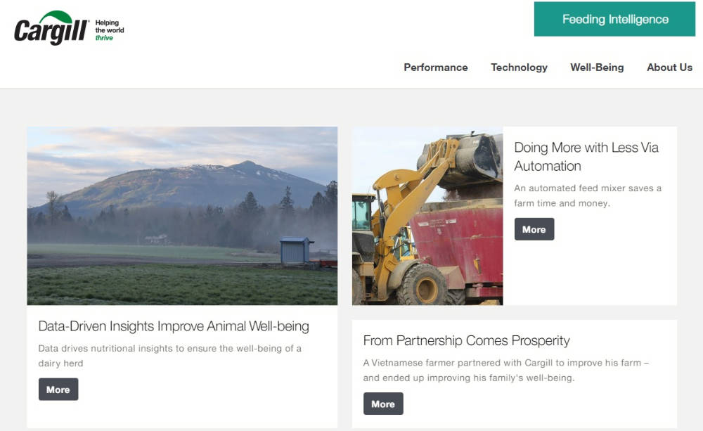 Cargill support farmers with new intelligence platform
