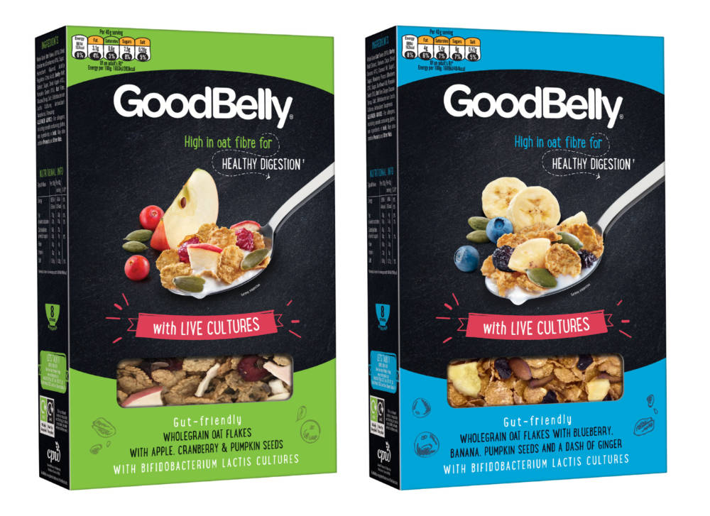 Cereal containing live cultures hits UK shelves