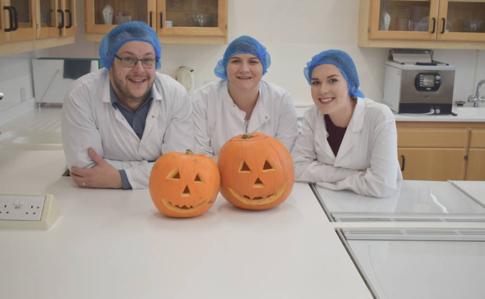 Food researchers create ice cream recipe to combat pumpkin waste