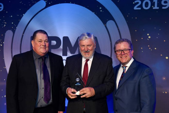 Recognition for Spiroflow founder at PPMA Awards