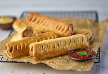 Central Foods launch vegan sausage roll for foodservice market