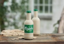 Carlsberg reveals paper beer bottle prototypes