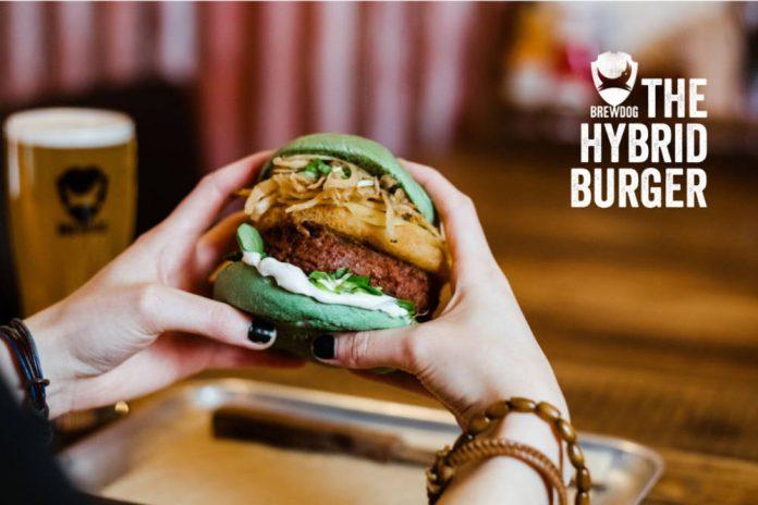 BrewDog launch 'Hybrid Burger' to tap flexitarian market