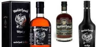 Motörhead launches trio of spirits in UK