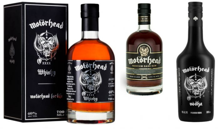 Motörhead launches trio of spirits in UK