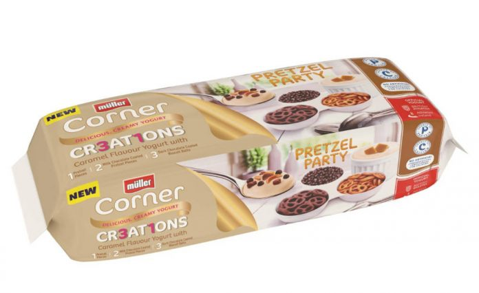 Müller launch its first UK yoghurt with pretzels