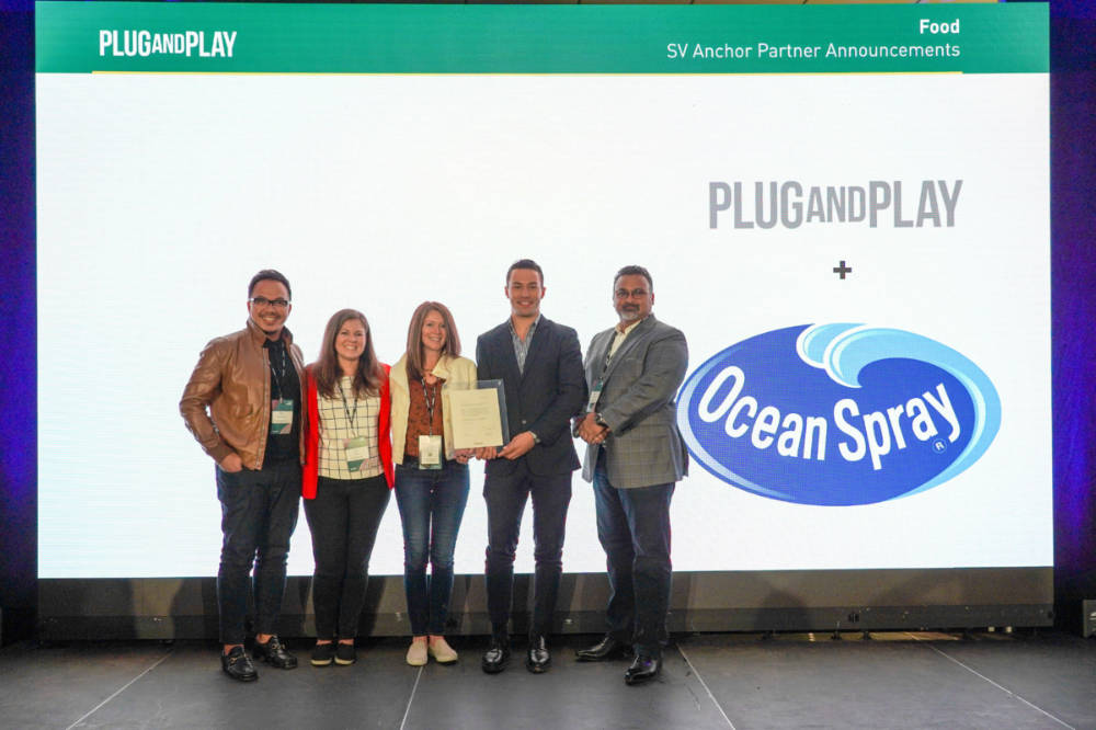 Ocean Spray gains foothold in Silicon Valley with Plug and Play partnership