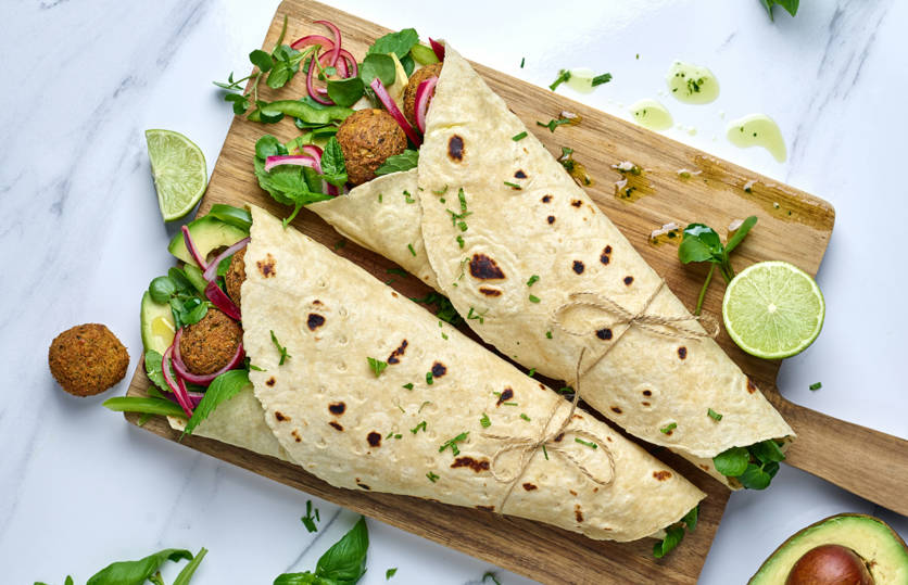 Gluten-free wrap launched for foodservice market