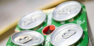 Heineken swaps plastic rings for cardboard topper on multi-pack cans