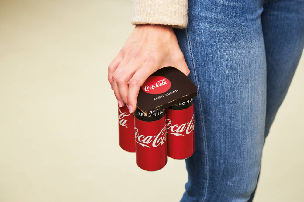 Coca-Cola launches KeelClip packaging solution for multipack cans