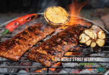 December launch for world's first 'vegan ribs'