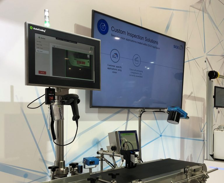 See 4Sight in action at AutoCoding and SICK UK event