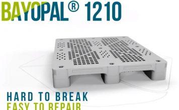 Hard to break, easy to repair – BaYoPal, the new Schoeller Allibert pallet