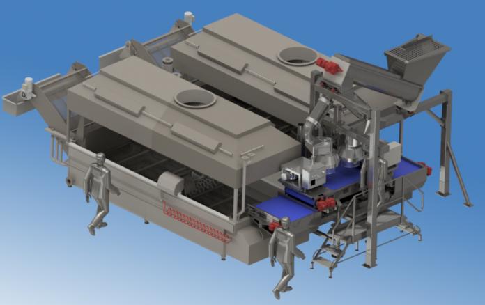 Fabcom supplies production system for Scandinavian snacks giant