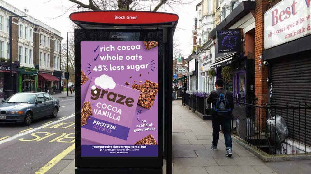 graze promotes sugar reduction in new £1m campaign