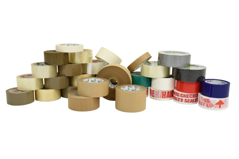 Kite Packaging offer an extensive range of high-quality tapes for different applications, along with an environmental range