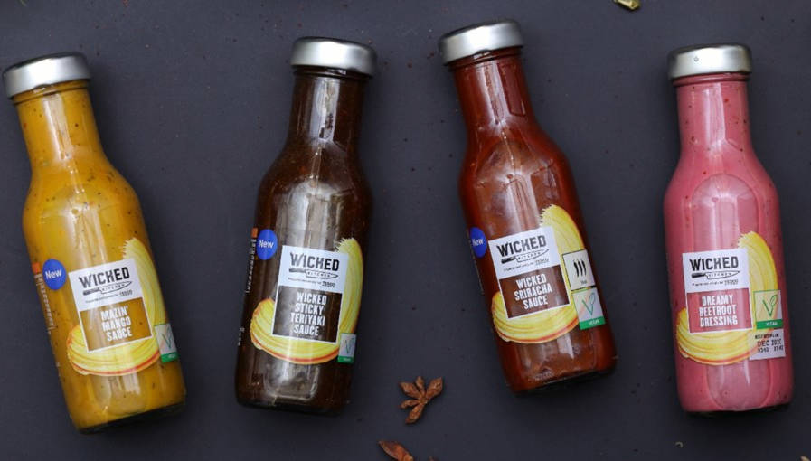 Tesco launches vegan condiment range