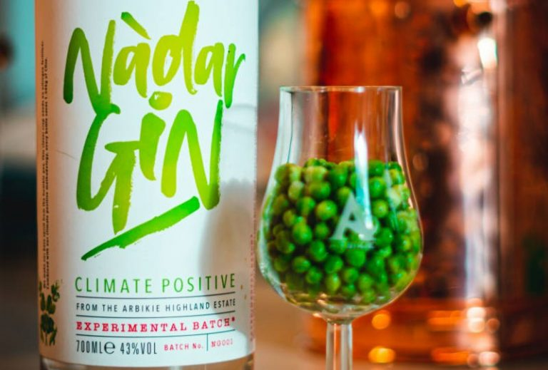Scottish distillery launch 'climate positive' gin made from peas