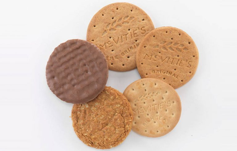 pladis reformulate McVitie's biscuits with less sugar