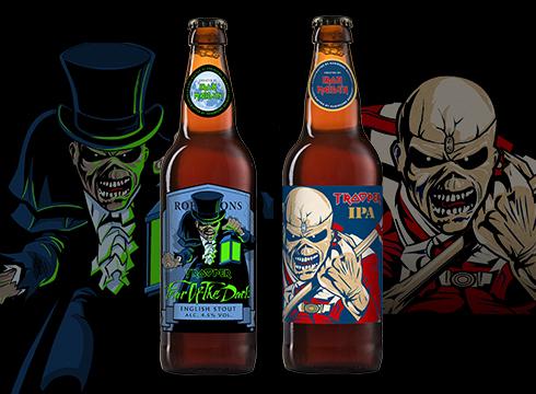 First stout & IPA join Iron Maiden's Trooper range