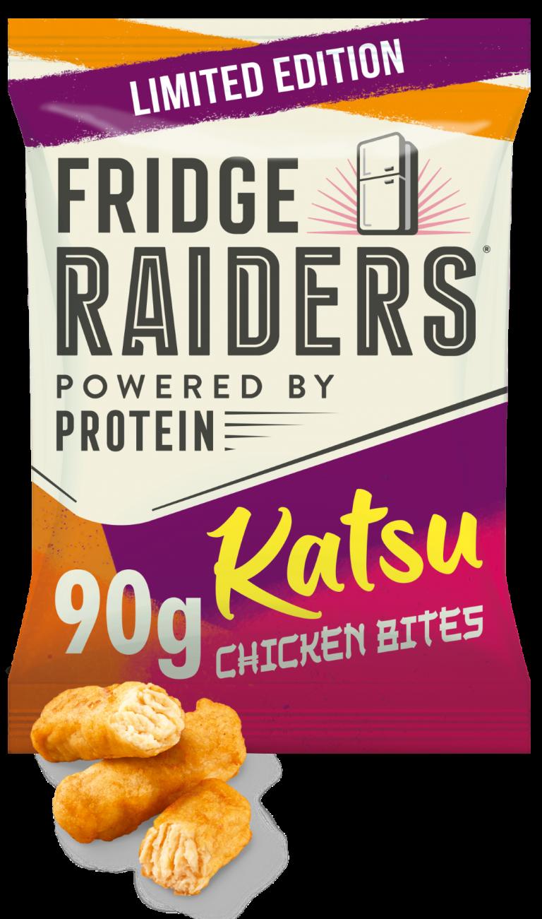 Fridge Raiders launches katsu flavoured chicken bites