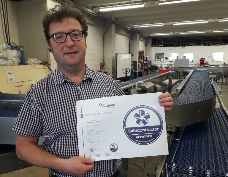 Top safety accreditation for Western Mechanical Handling UK Ltd