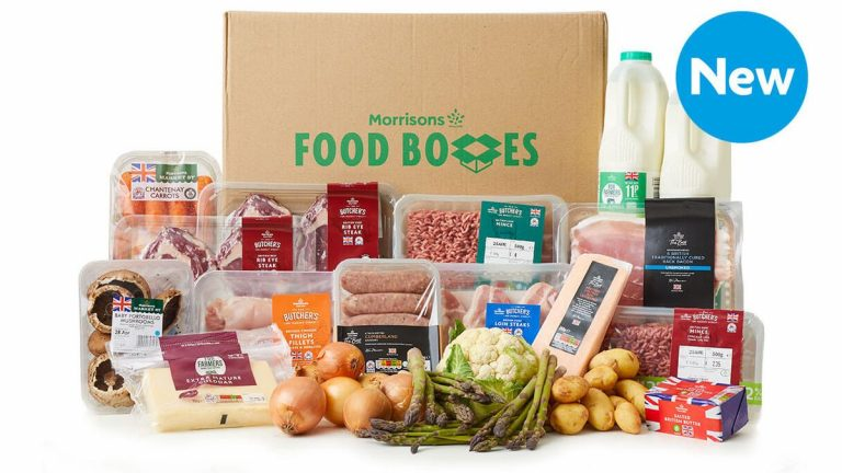 Morrisons launches food box to support British farmers during pandemic