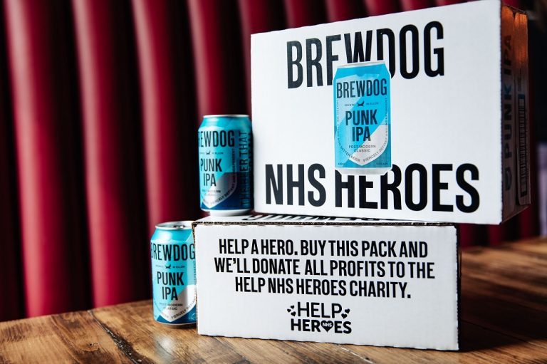 BrewDog launch limited edition pack to raise funds for NHS