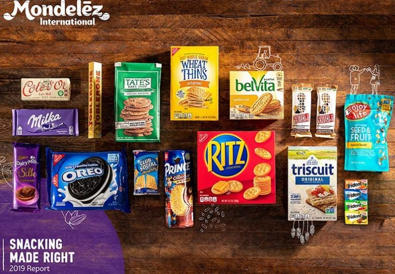 Mondelēz highlights sustainability and wellbeing progress