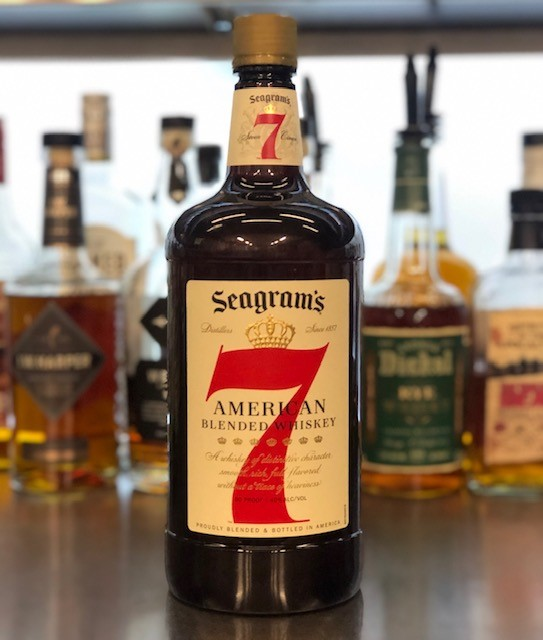 Diageo launch recycled plastic bottle for Seagram's 7 Crown