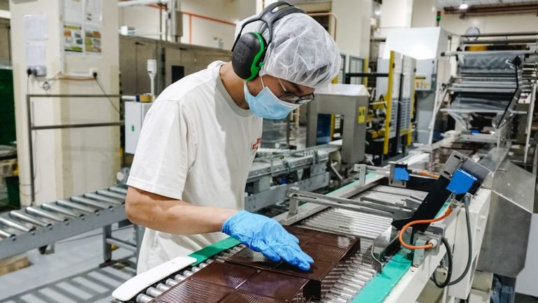 Barry Callebaut expands capacity at Singapore chocolate factory