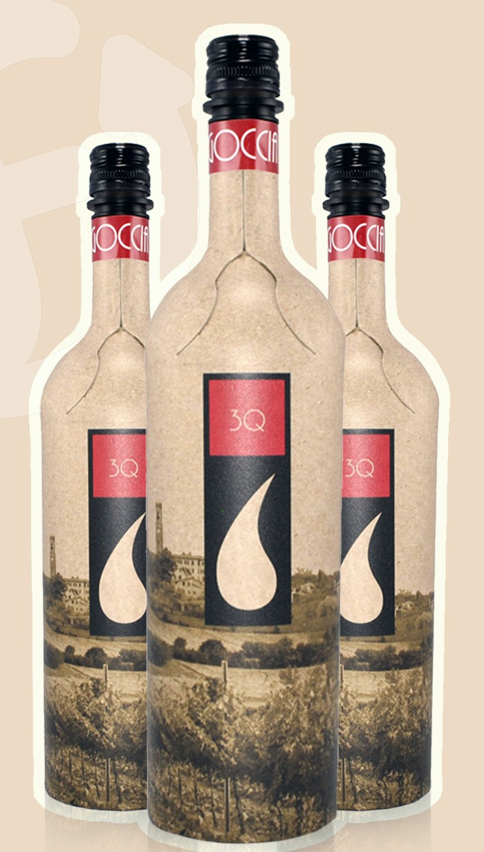 Frugalpac launch recycled paper bottle for wine and spirits