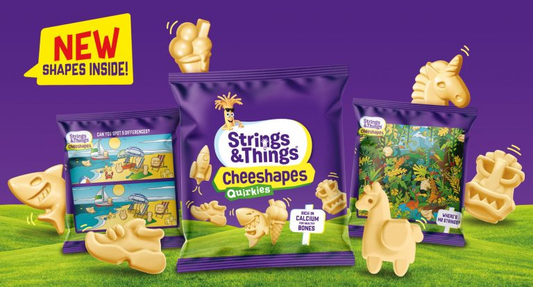 Strings & Things launches Cheeshapes Quirkies with new playful shapes