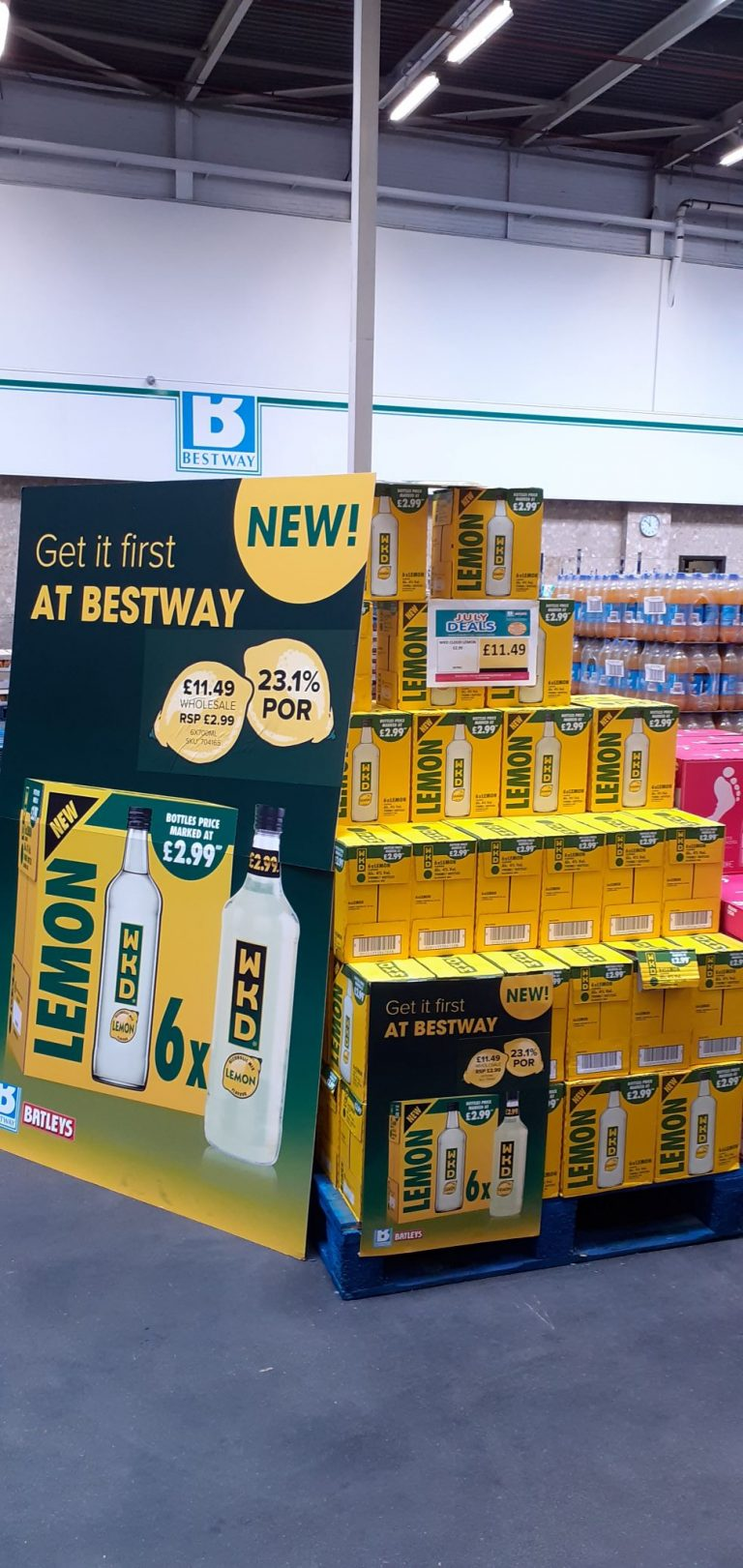 'Partner-working' as Bestway teams up with SHS Drinks for new lemon flavour WKD launch