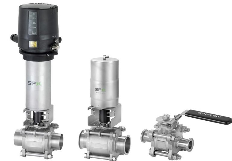 SPX FLOW launches new APV Ball Valve Series