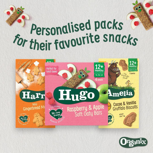 Organix launches new online shop with personalisation service