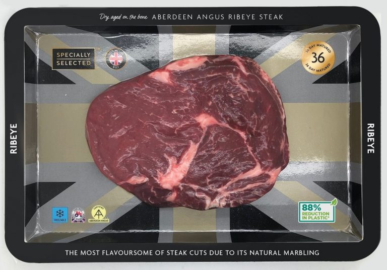 Aldi swaps plastic for cardboard across entire steak range