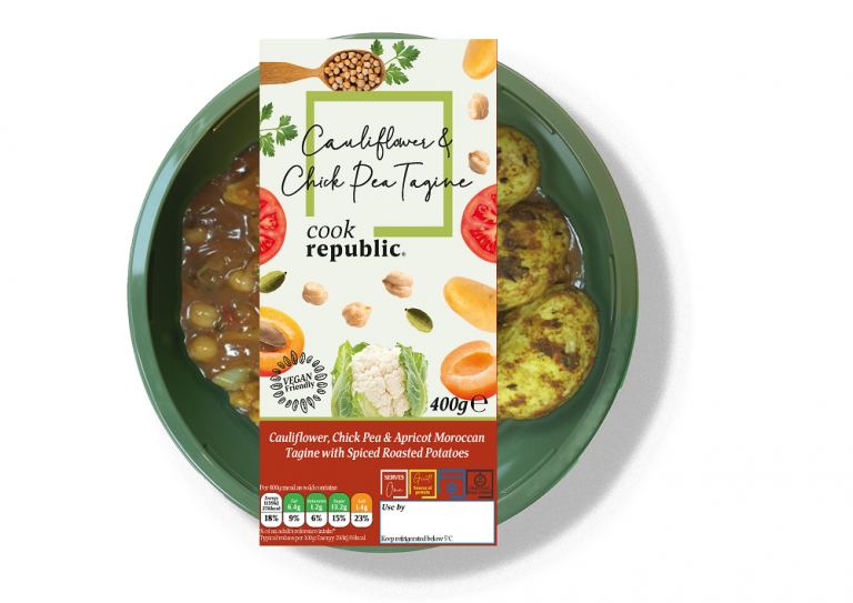 Premium vegan ready meal brand launches in the UK