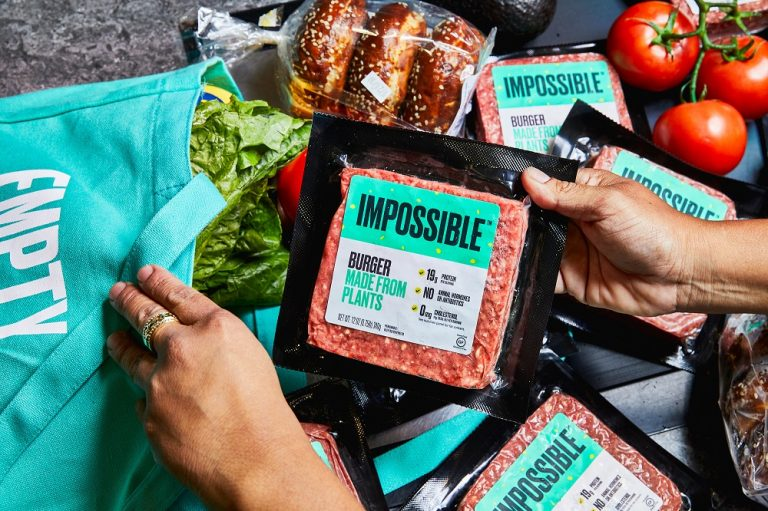 Asian grocery launch for Impossible Foods